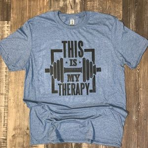 Gym Is My Therapy Tee